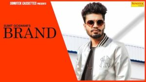 brand haryanvi song lyrics