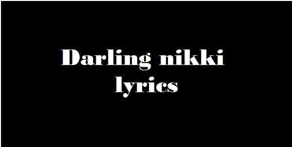 Darling nikki lyrics