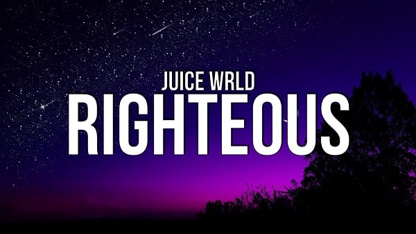 Juice wrld righteous lyrics