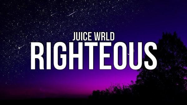 Juice wrld righteous lyrics