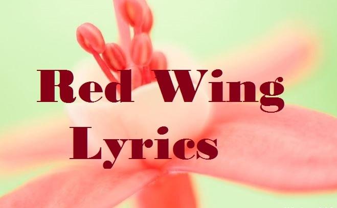 red wing lyrics