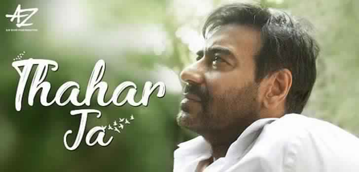 thahar ja song lyrics