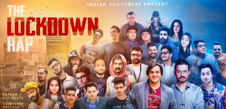 the lockdown rap lyrics indian youtubers ssd music