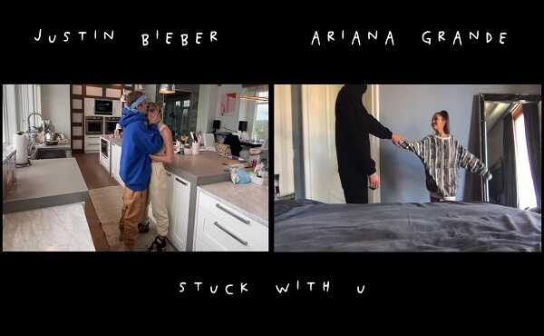 Ariana grande ft justin bieber stuck with you lyrics