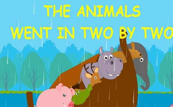 Animals Went In Two By Two Song Lyrics