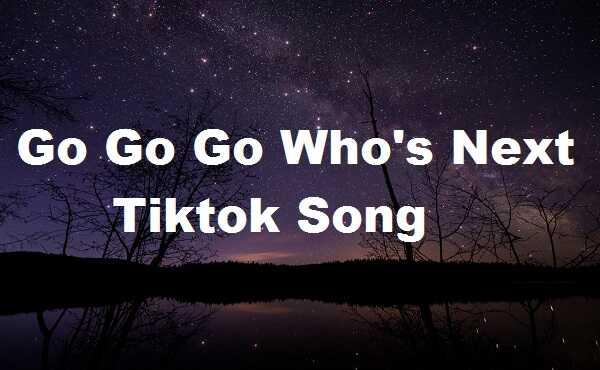 Go Go Go Whos Next Tiktok Song