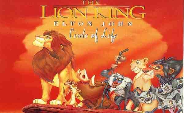 Lion King Opening Song Lyrics