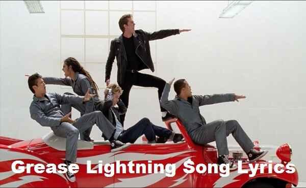 Lyrics To Grease Lightning Song