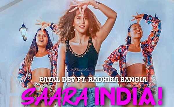 Saara India Lyrics Payal Dev