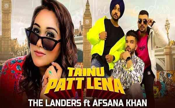 Tainu Patt Lena Lyrics The Landers