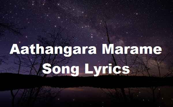 Aathangara Marame Song Lyrics