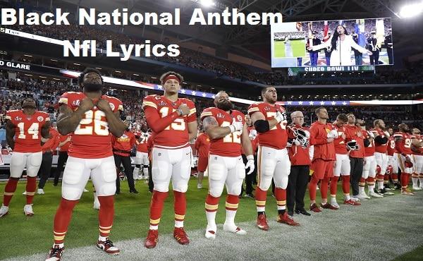 Black National Anthem Nfl Lyrics