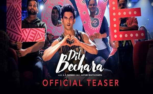 Dil Bechara Title Track Lyrics