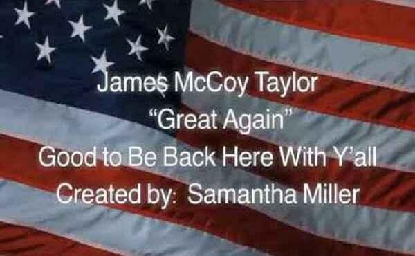 I Voted For A Man Named Donald J Trump Lyrics