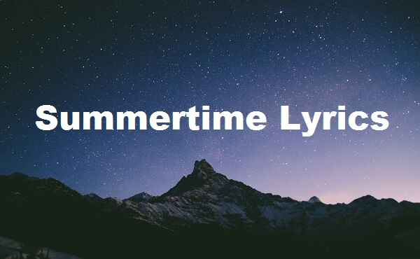 Summertime Lyrics