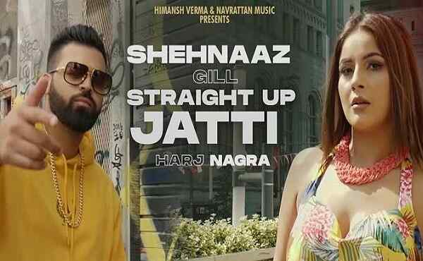 Straight Up Jatti Lyrics Shehnaaz Gill