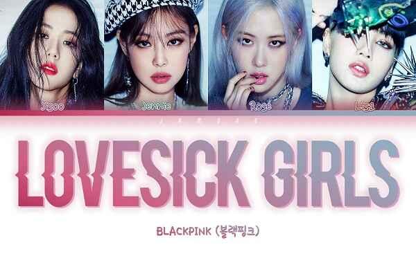 Lovesick Girls Lyrics Blackpink