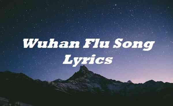 Wuhan Flu Song Lyrics