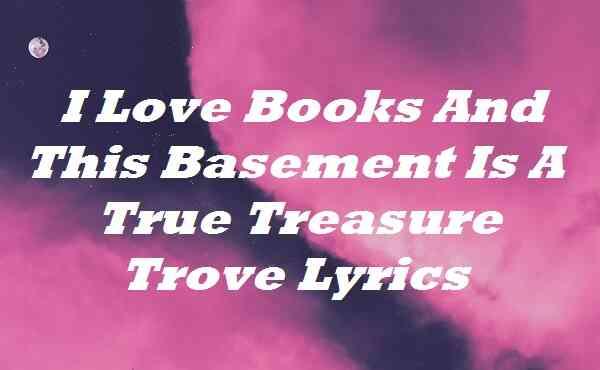 I Love Books And This Basement Is A True Treasure Trove Lyrics