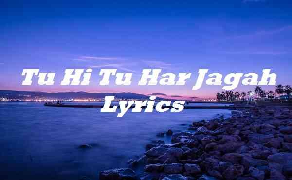Tu Hi Tu Har Jagah Lyrics